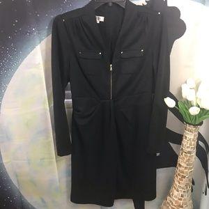 Kay Unger women's black pencil dress size 10